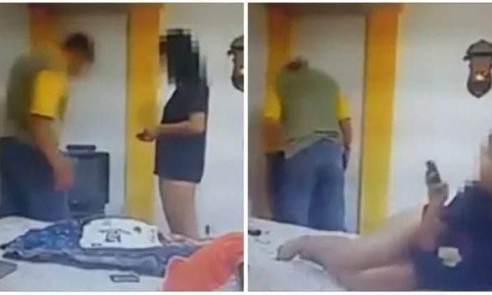 O femeie a batut la usa vecinei care facea amor zgomotos. Ce s-a intamplat dupa pare desprins din filme