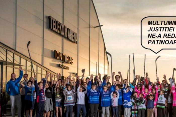 """""""Mulțumim că ne-ați salvat patinoarul"""". Victorie a lui Ion Țiriac în luptă cu statul român! Decizia Curții de Apel referitoare la linia de tren Gara de Nord – Otopeni"""