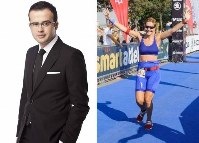 Soția lui Mihai Gâdea face sport de performanță