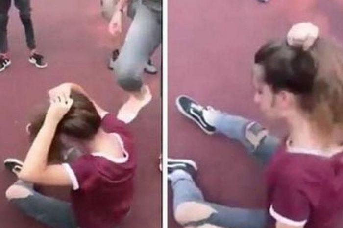 Bătaie ca-n ringul MMA între două eleve din Bucureşti. Scenele halucinante, filmate de colegi VIDEO