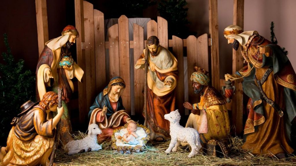 Când începe post Crăciun 2019. Foto scena nașterii Domnului